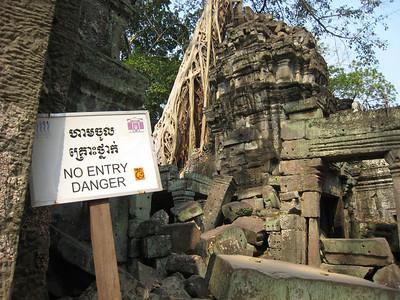 Ruin at Angkor