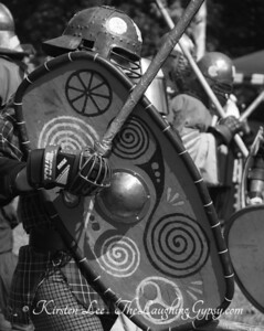 Siege of GLengary Celtic Warrior