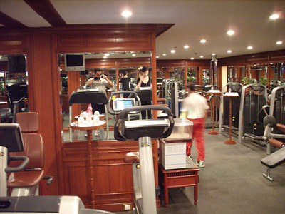 Gym at Taj Mahal Hotel, New Delhi