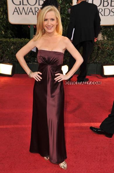 Angela Kinsey Golden Globes