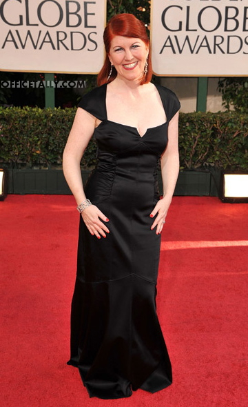 Kate Flannery Golden Globes