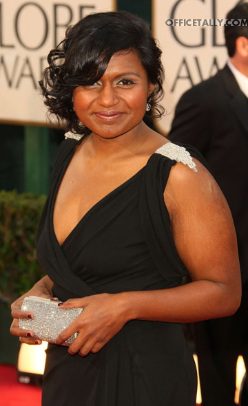 Mindy Kaling Golden Globes