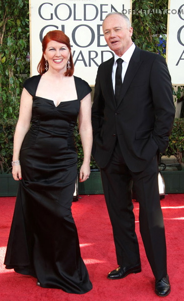 Creed Bratton and Kate Flannery Golden Globes