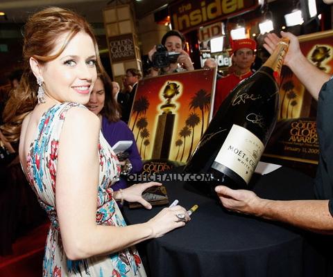 Jenna Fischer Golden Globes