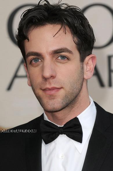 B.J. Novak Golden Globes