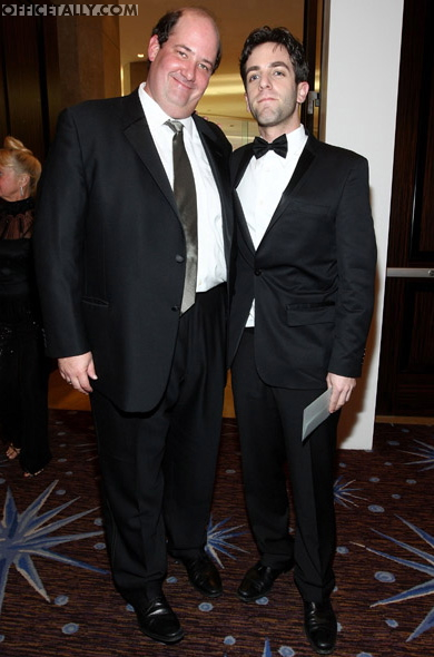 Brian Baumgartner and B.J. Novak Golden Globes