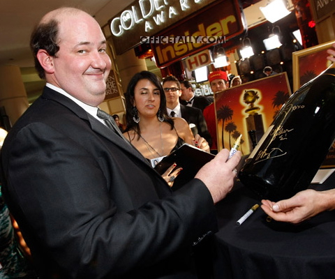 Brian Baumgartner Golden Globes