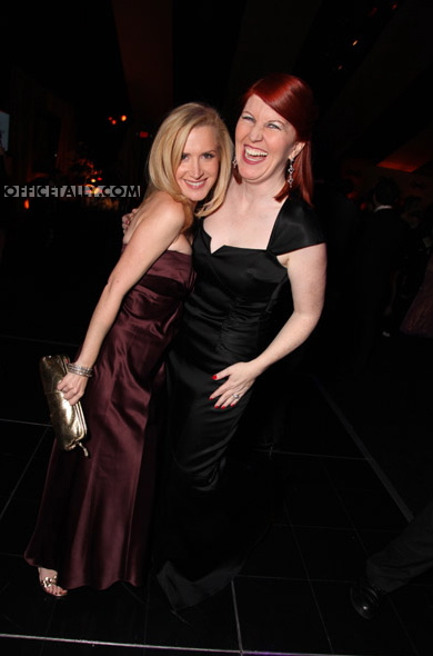 Angela Kinsey and Kate Flannery Golden Globes