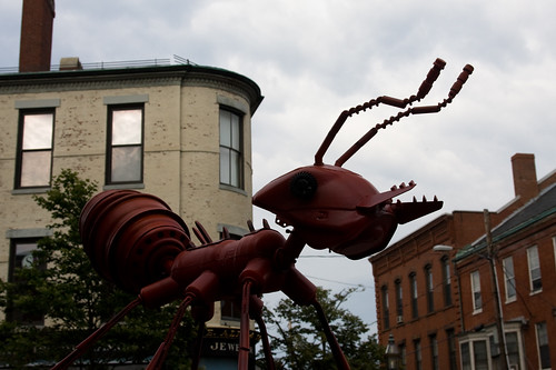 sculpture of an ant