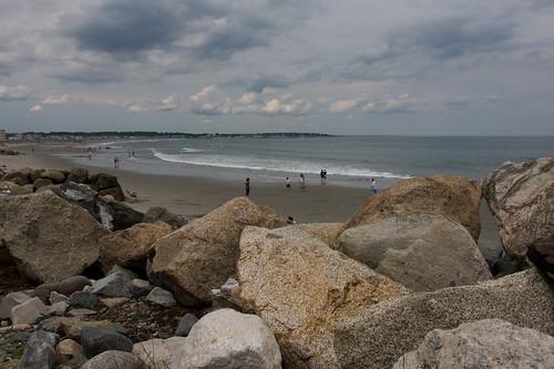 rocky coastline & beach