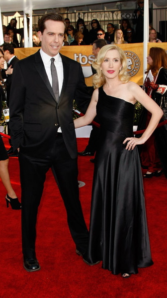 Ed Helms and Angela Kinsey