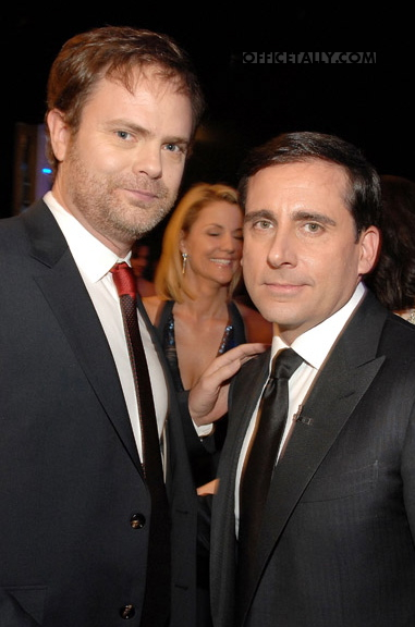 Rainn Wilson and Steve Carell