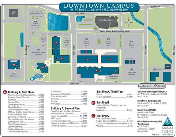 Fscj South Campus Map   My blog