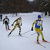Michigan Cup Marathon XC ski race - Junior start