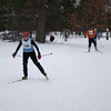 Michigan Cup Marathon XC ski race - Women's finish