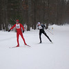 Michigan Cup Marathon XC ski race - Men's finish