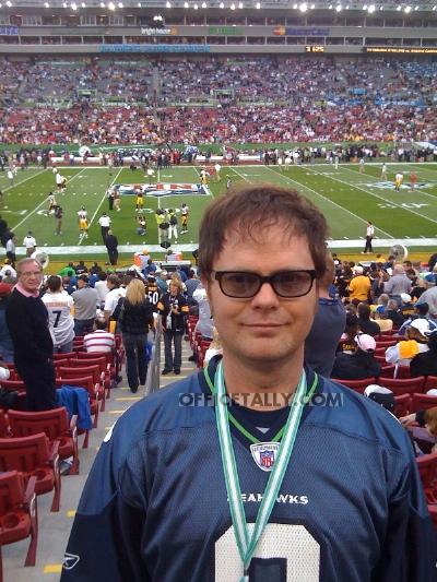 Rainn Wilson Super Bowl