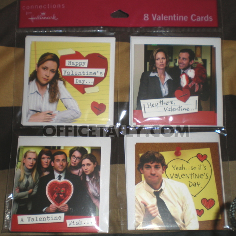 The Office Valentine Cards