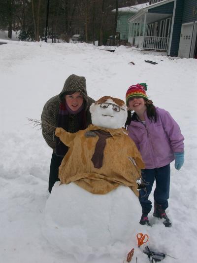 Dwight Schrute Snowman