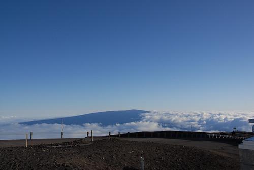 Mauna Loa viewed from Mauna Kea, Hawaii