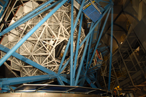 Inside the Keck 1 Telescope, Mauna Kea