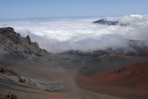 Inside Haleakala Crater