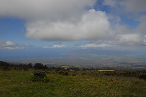 View from the top of Haleakala