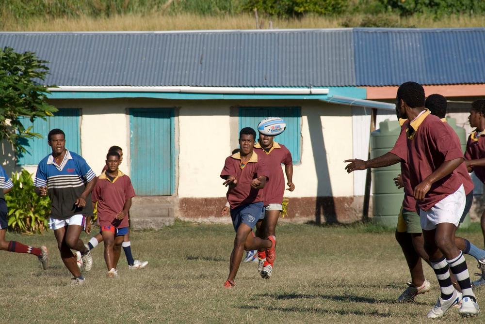 Village Rugby Match, Fiji