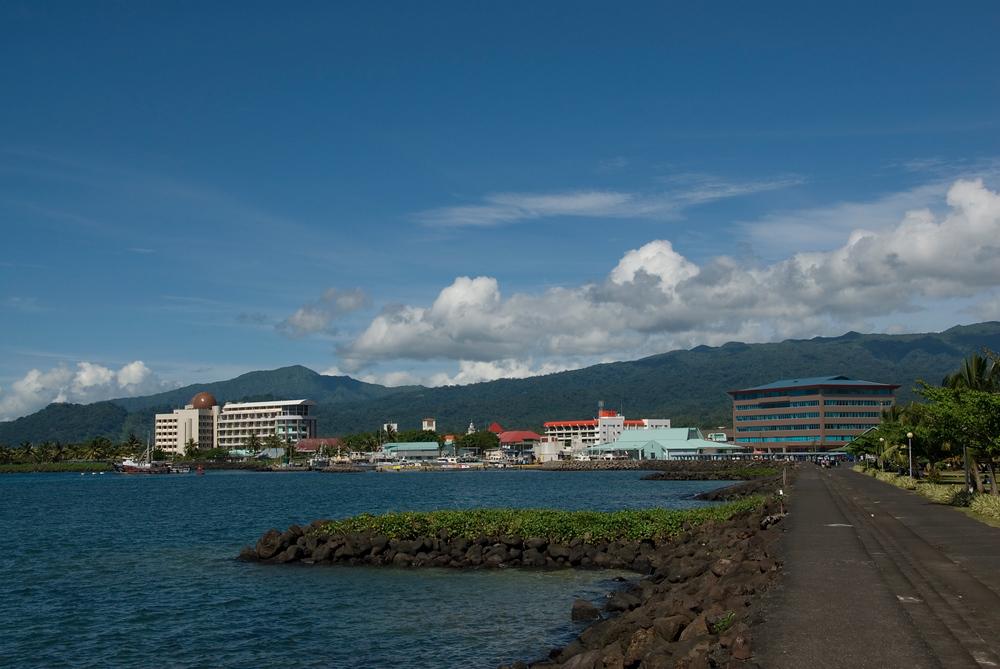 Waterfront at Apia, Samoa
