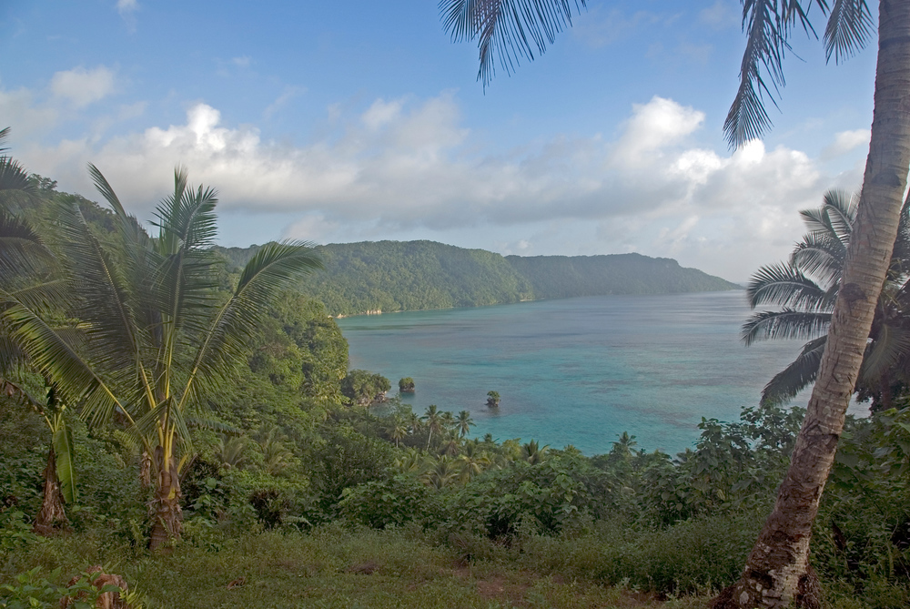 Kanvaga Bay, Rennell Island, Solomon Islands