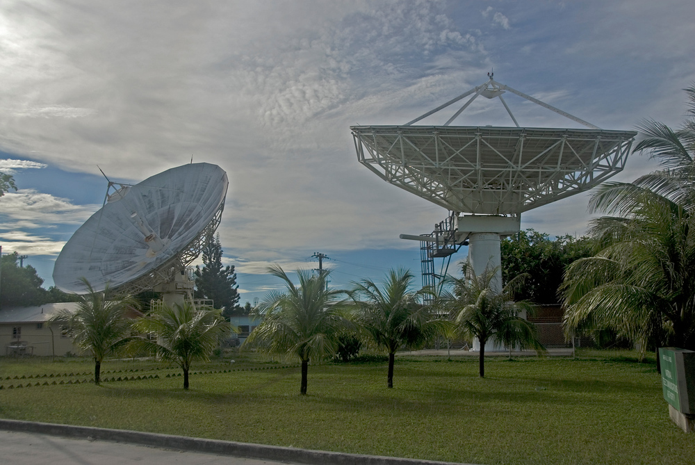 Satellite Dishes in the Marshall Islands