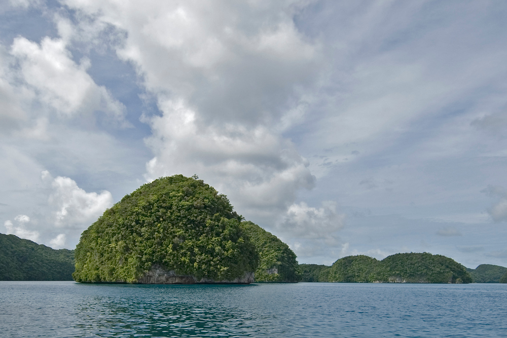 Rock Island in Palau