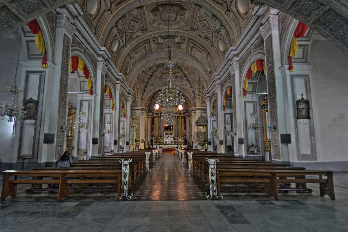 San Agustin Church. Manila, Philippines
