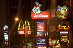 Jolibees is a Filipino owned fast food restaurant with 12 stores in the USA