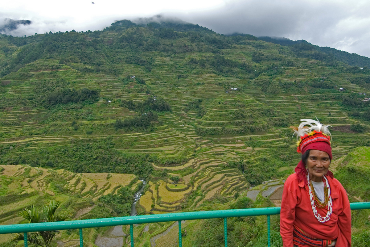 UNESCO Word Heritage Site #7: Rice Terraces of the Philippine Cordilleras