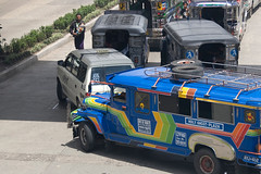Jeepneys are the most popular and distinctive form of transportation in the Philippines