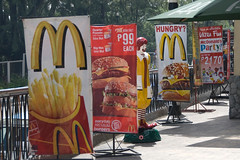 Big Mac value meal only 99 Pesos