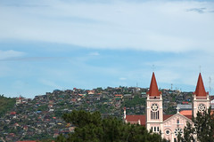 Baguio Cathedral and Skyline