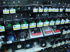 The is the biggest selection of CPU fans I've ever seen