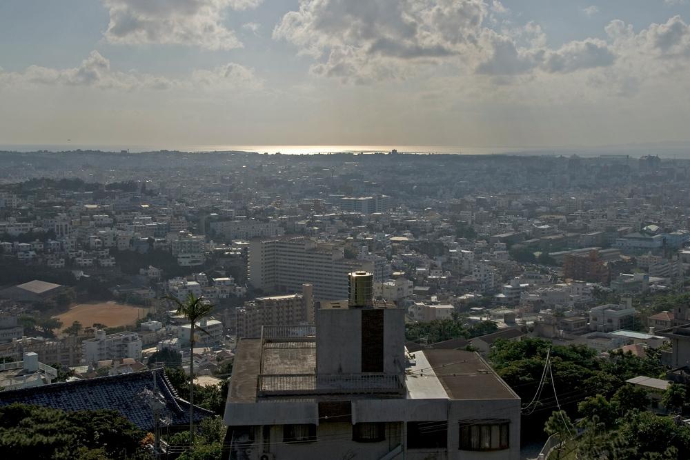 Naha skyline. Okinawa, Japan