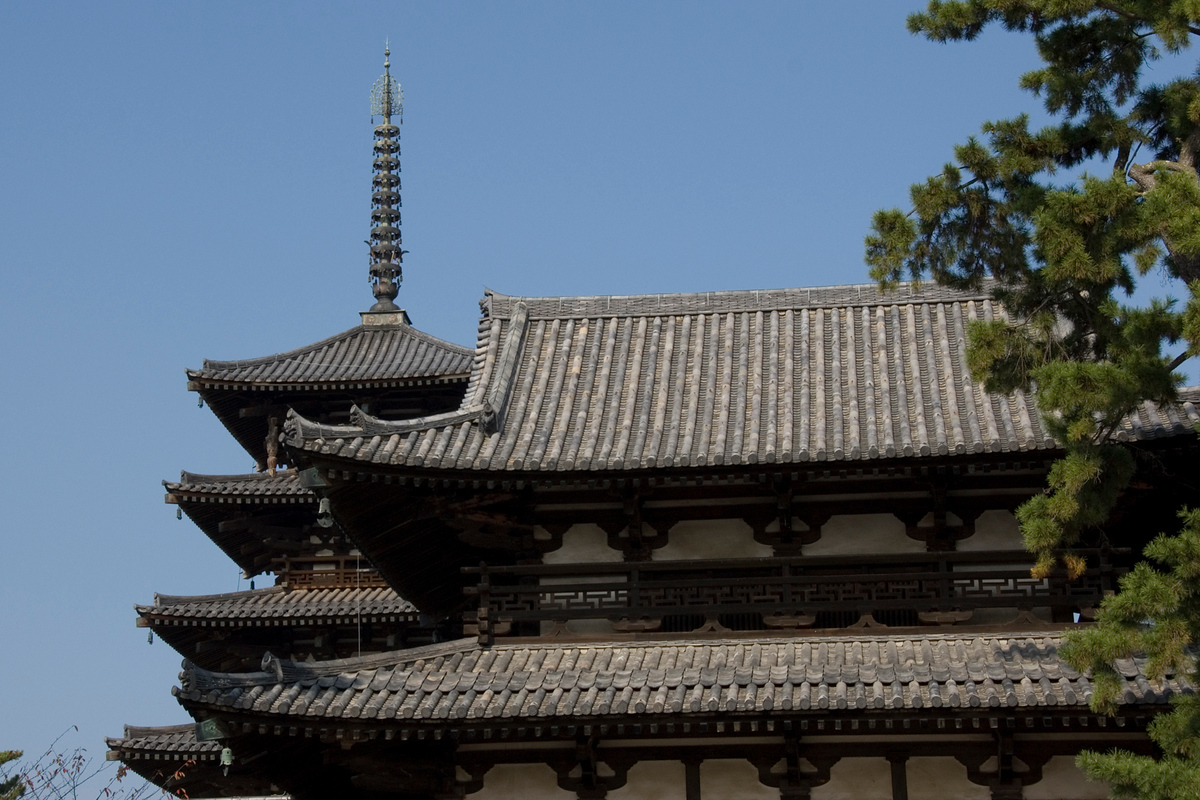 Horyuji Temple and Pagoda, Japan