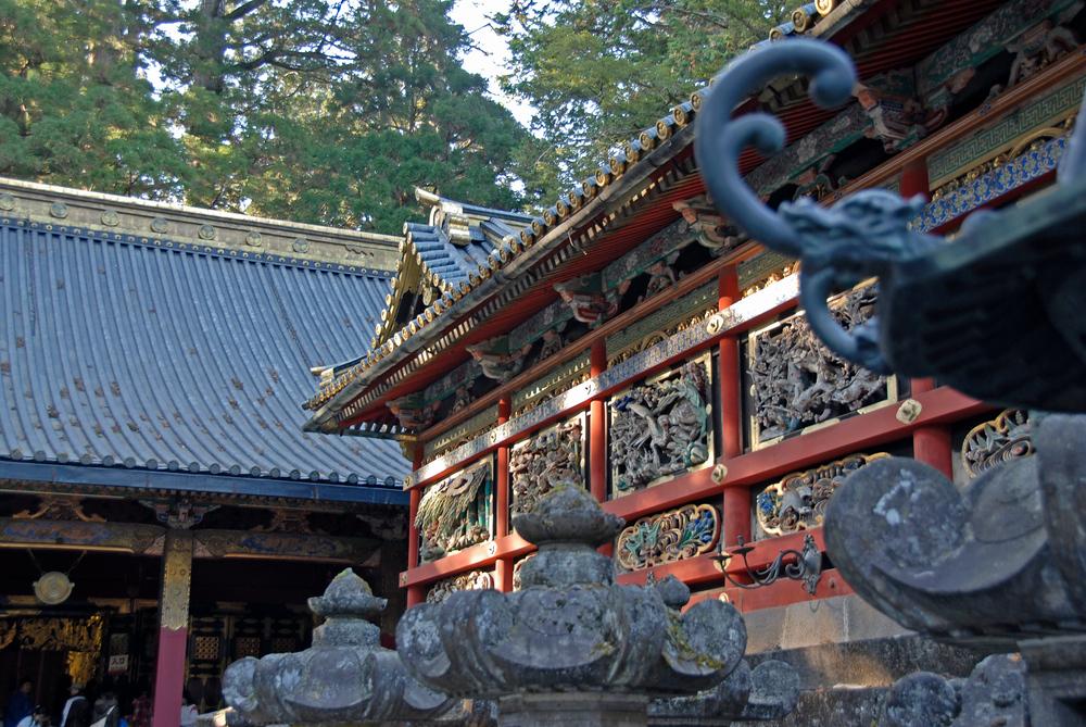 Temple in Nikko, Japan
