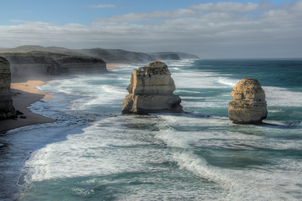 Seascape on the Great Ocean Road, Victoria, Australia