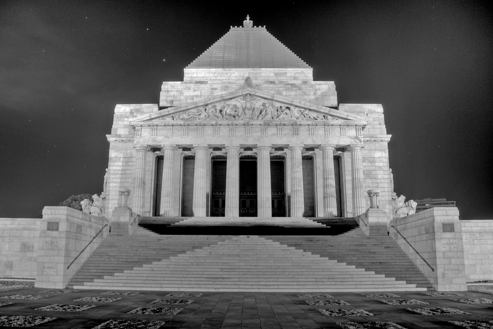 Shrine of Remberance. Melbourne, Victoria