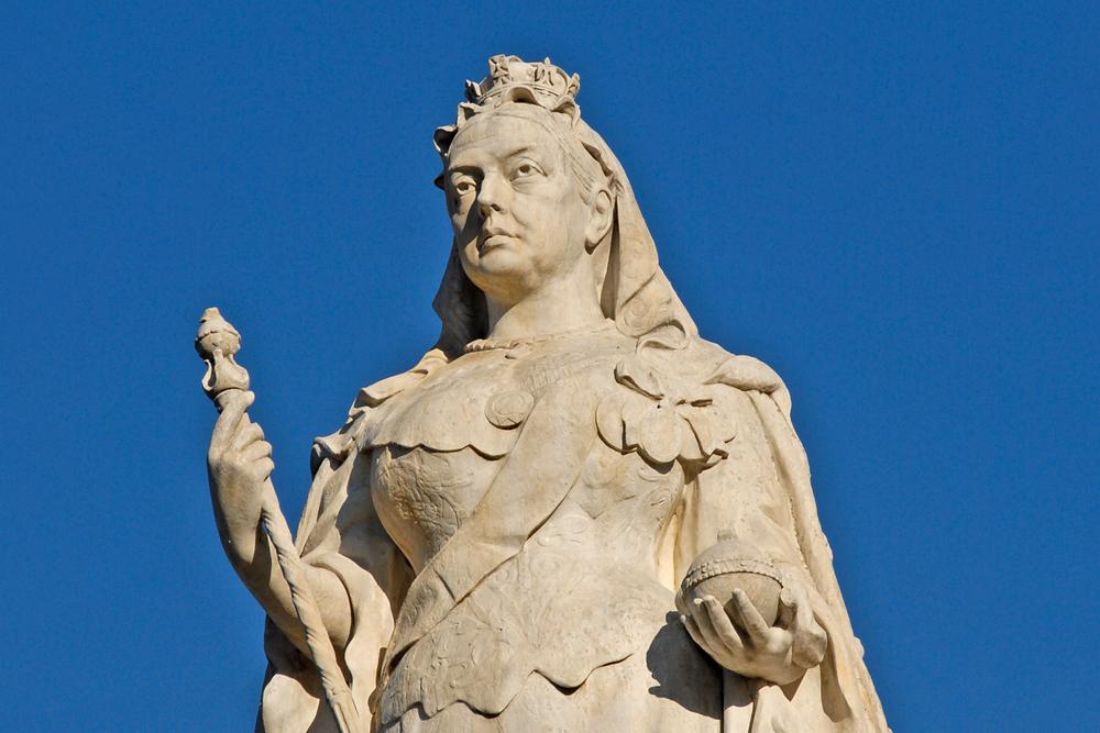 Queen Victoria Statue, Melbourne, Australia