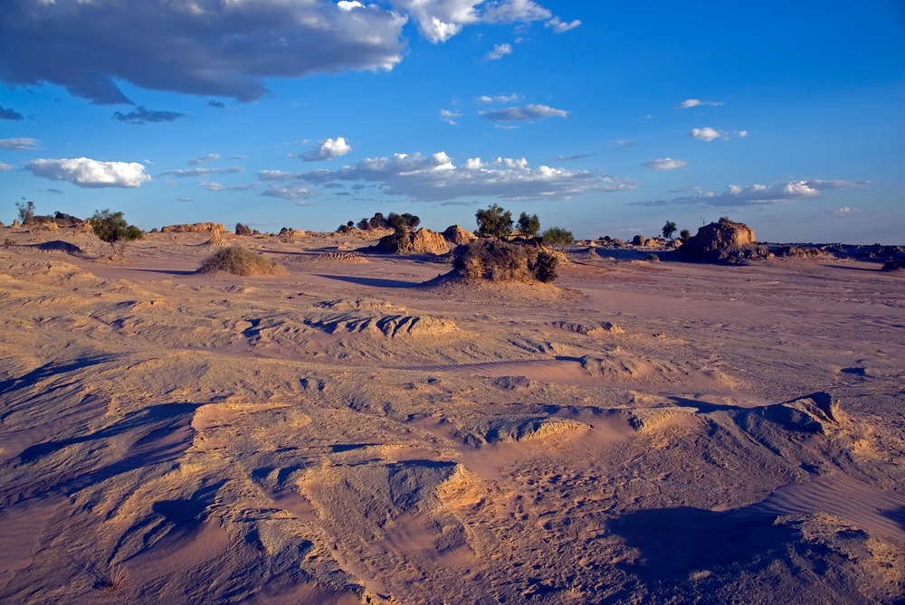 World Heritage Site #30: Willandra Lakes Region