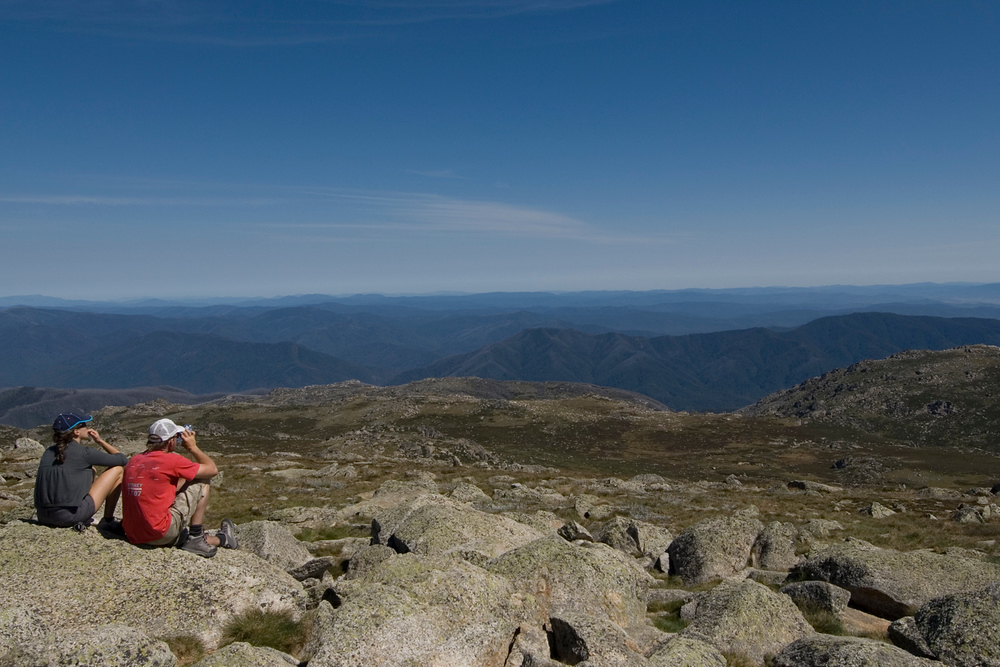 Summit of Mount Kosciusko