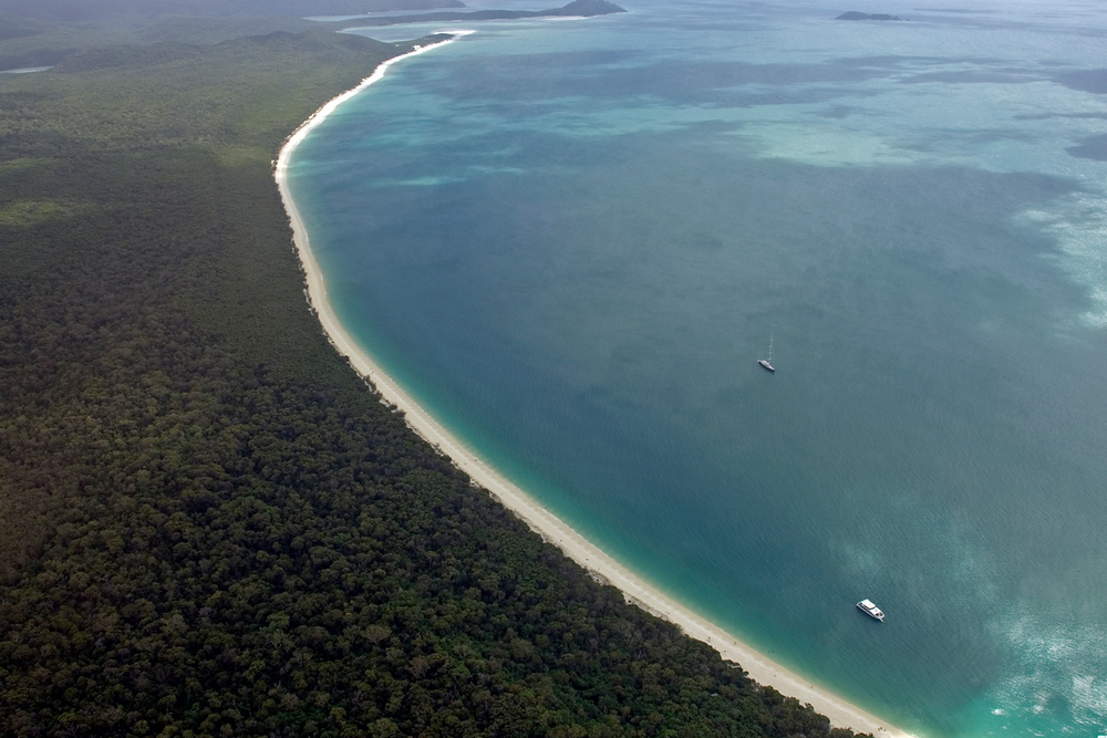 Seven Mile Beach, Whitsunday Islands, Queensland, Australia
