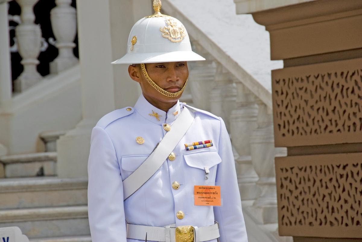 Honor Guard at Royal Palace, Bangkok