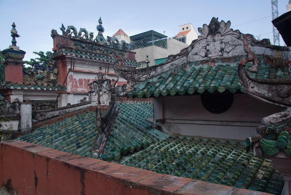 Rooftops in Saigon
